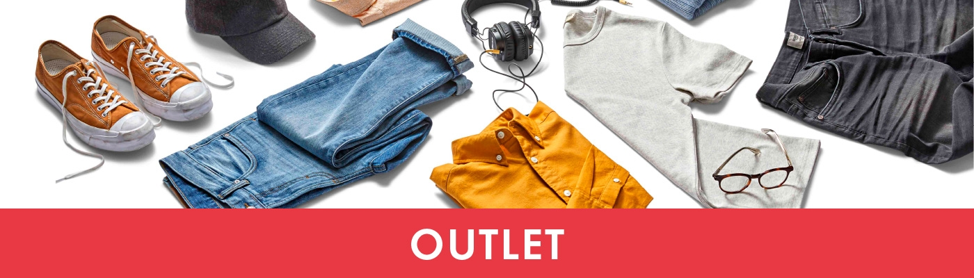 Outlet asusteet