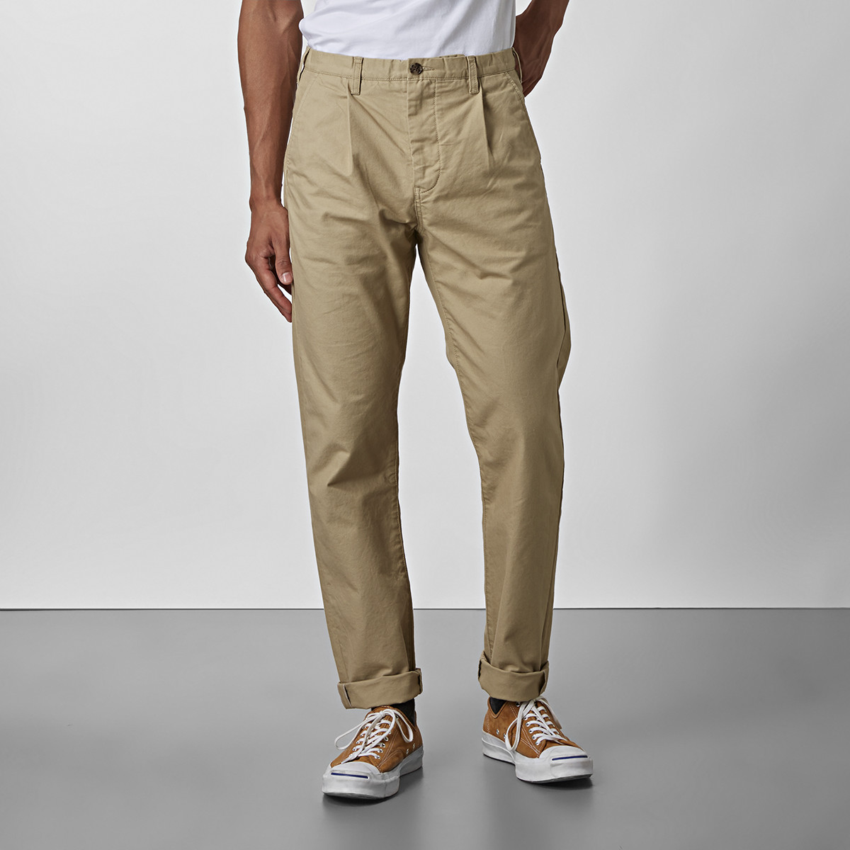 Chinos Bailey Beige | East West | Brothers.se