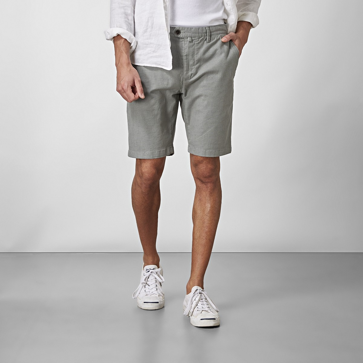 Bowery Chinos Shorts Grön | East West | Brothers.se