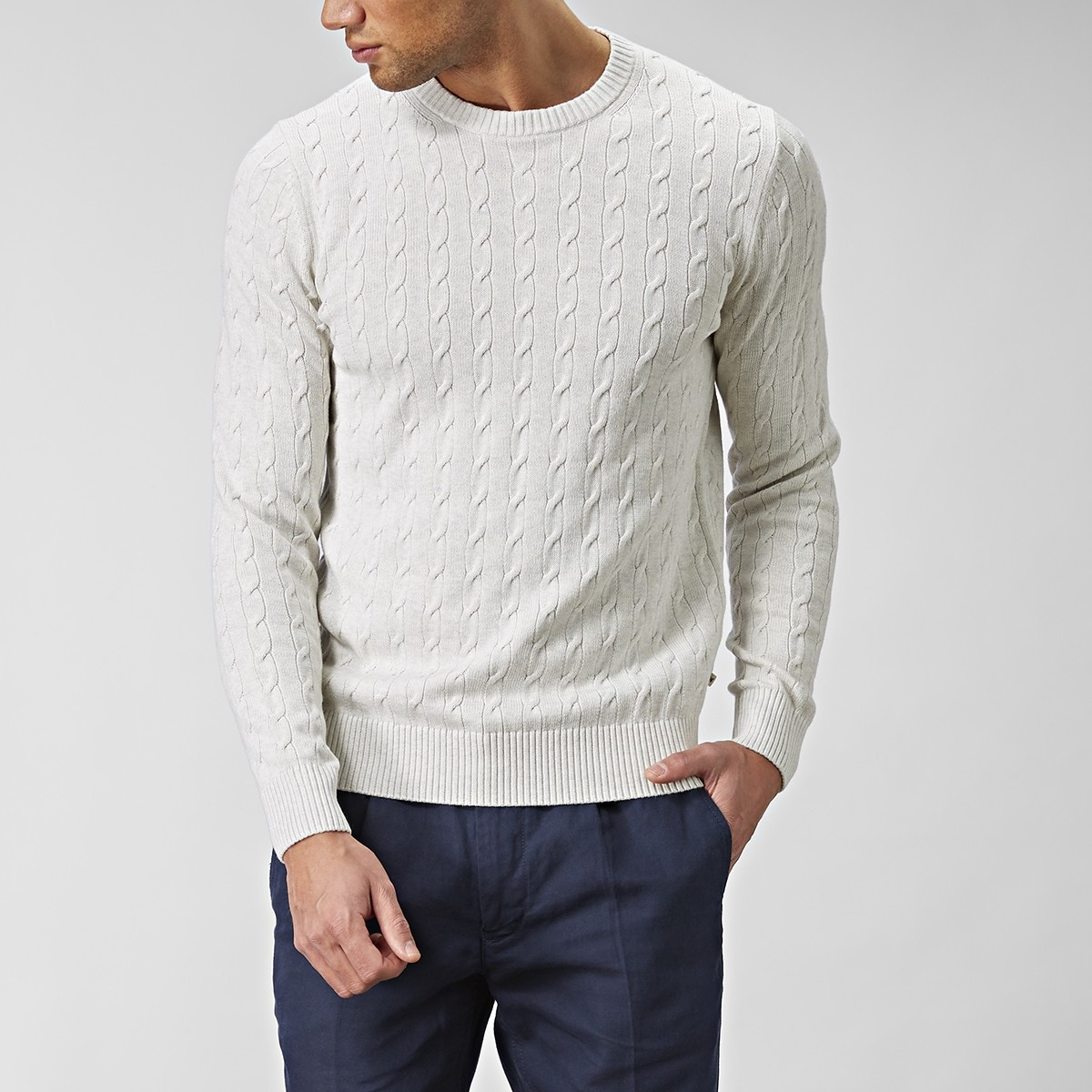 Carrick Neule Beige | East West | Brothers.fi| Brothers.se