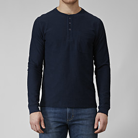 EASTON LONG-SLEEVE HENLEY PAITA