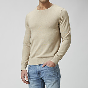TRUMAN COTTONSILK O-NECK NEULE