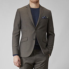 SHELBY WOOL TWILL BLEISERI