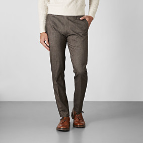 Byxa Shelby Winter Cotton - Brun | Riley | Brothers.se