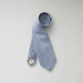 Slips Nevison Tweed - blå | The Tailoring Club | Brothers.se