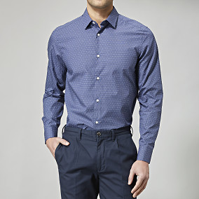 Slim fit skjorta | Riley | Brothers.se
