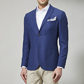Kavaj Shelby Blå | Riley | Brothers.se