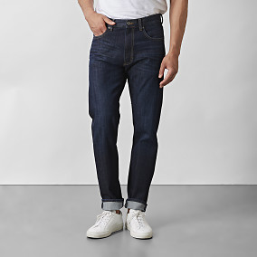 Jeans Bailey Dark-Denim | East West | Brothers.se