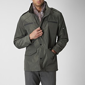 Hudson Fieldjacket Oliivi | Riley | Brothers.fi