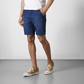 Shorts Chino Denim | Lee | Brothers.se