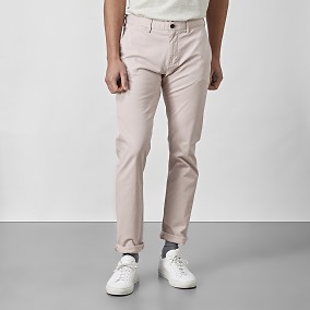 Bowery Stretch Chinos Rosa | East West | Brothers.se