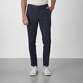 Cropped Chinos Baxter Blå | East West | Brothers.se