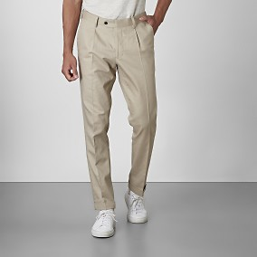 Shelby Linnebyxor Beige | Riley | Brothers.se