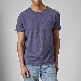 Daxton T-shirt Blå | East West | Brothers.se