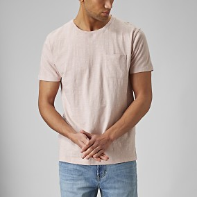 Daxton T-shirt Rosa | East West | Brothers.se