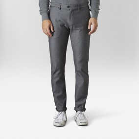 Bowery Chinos Svart | East West | Brothers.se