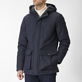 Falcao Sininen Parka | East West | Brothers.fi