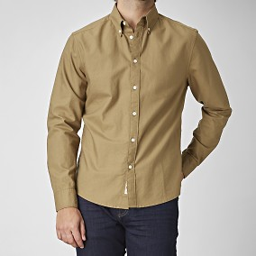 Spike Beige Oxford Paita | East West | Brothers.fi