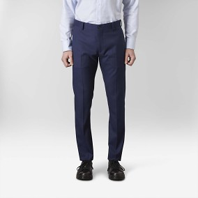Stanton Twill Stretch Siniset Puvunhousut 5 | Riley | Brothers.fi