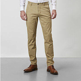 ALPHA SLIM KHAKI CHINOT