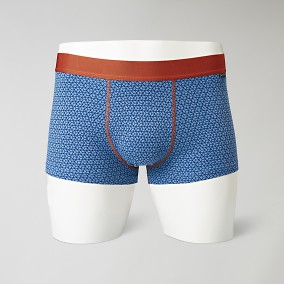 Print Siniset Trunk Bokserit | Riley | Brothers.fi