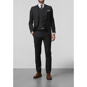 The Tailoring Club ThreeSixtyFive black suit 380€